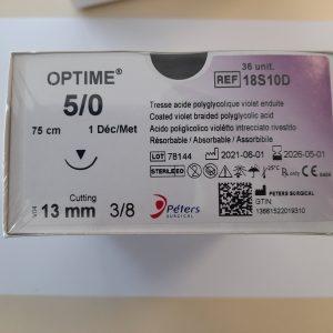 Suture-OPTIME-PGA- 18S10D