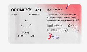 Suture-OPTIME R-PGA- 12S15E